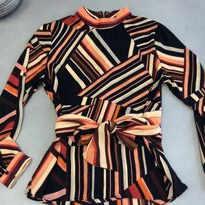 Zara multicolored blouse